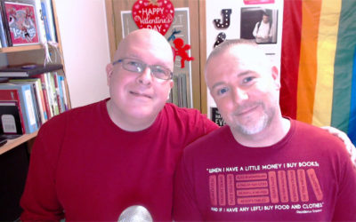 "Big Gay Fiction Podcast – Episode 123 – V.L. Locey & RJ Scott Talk ""Poke Check,"" Book & Movie Reviews & More"