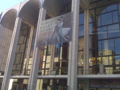 Throwback Thursday: At the Ballet