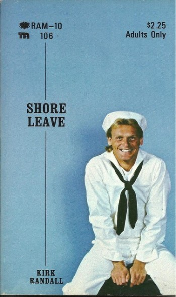 Paperback Cover of the Week: Shore Leave