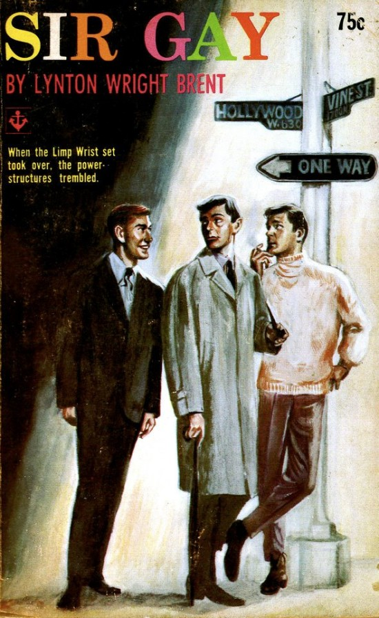Paperback Cover of the Week: Sir Gay