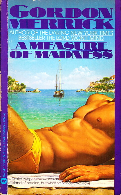 Paperback Cover of the Week: A Measure of Madness