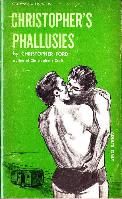 Paperback Cover of the Week: Christopher's Phallusies