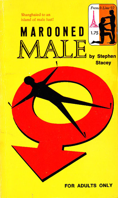 Paperback Cover of the Week: Marooned Male
