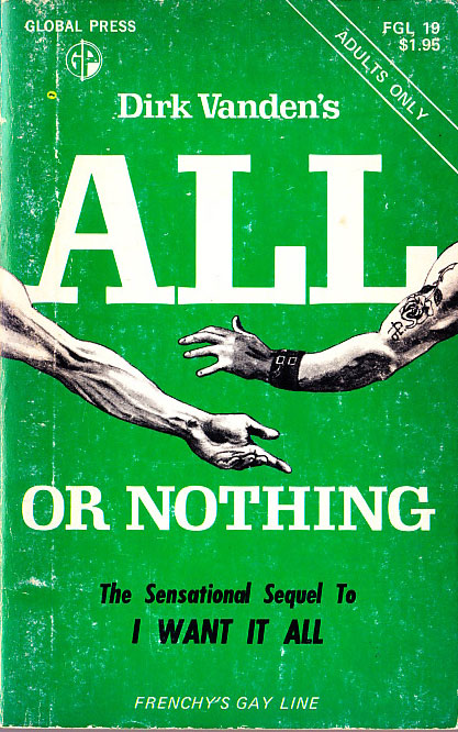 Paperback Cover of the Week: All or Nothing