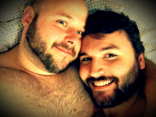 Cute Couples With Beards Gettin' Snuggly