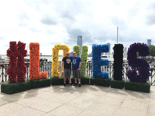 New York Theater/Pride Week/Jeff's B-Day Trip 2017