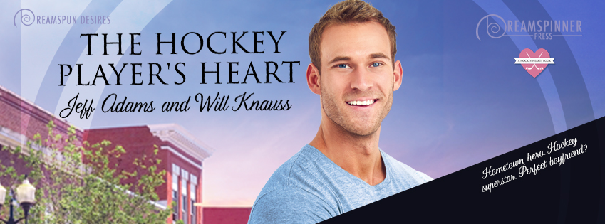 Cover Reveal: The Hockey Player's Heart