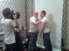 Jeff &amp;amp; Will at the NOH8 Campagin Shoot in NYC