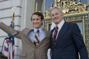 Sean Penn, Victor Garber in Milk