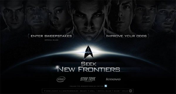 New Frontiers Sweepstakes