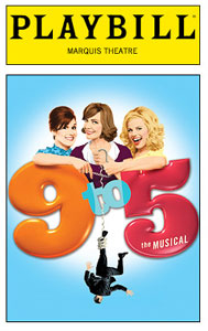 9 to 5: The Musical Playbill
