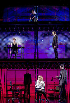 The cast of Next to Normal