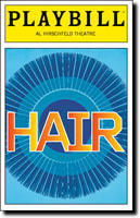 Hair Playbill
