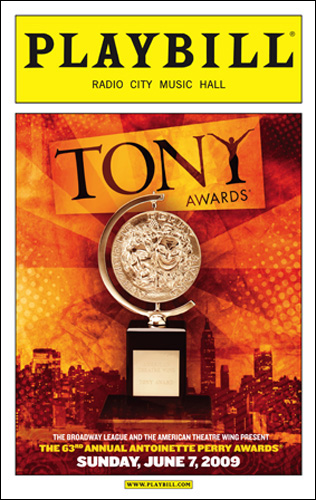 Tony Awards Playbill