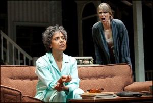 Phylicia Rashad and Amy Morton in August: Osage County