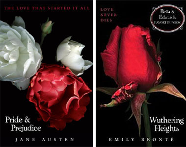 Pride and Prejudice, Wuthering Heights