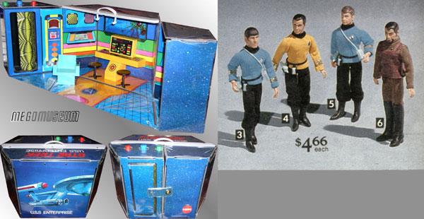 Star Trek 1976 Mego toys