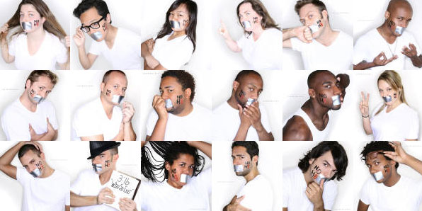 Click the image to see more of the NOH8 Gallery
