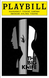 The Big Knife Playbill