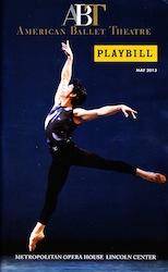 ABT Spring 2013 Playbill