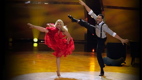 Chelsie and Aaron perform a Jive routine choreographed by Chelsie Hightower.