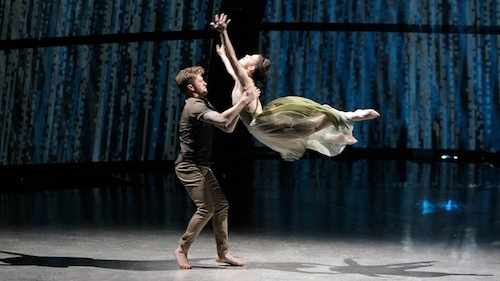 Amy and Travis perform a Contemporary routine choreographed by Travis Wall.