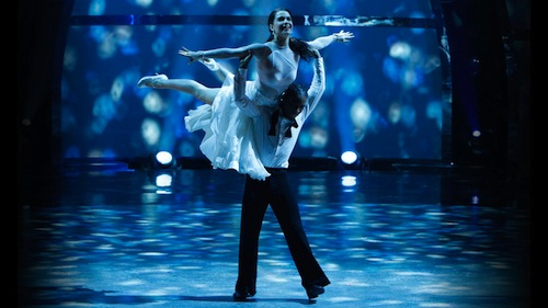 Amy and Fik-Shun perform a Viennese Waltz choreographed by Jean Marc Genereux.