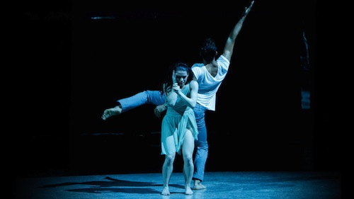 Amy and Robert perform a Contemporary routine choreographed by Stacey Tookey.