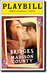 Bridges of Madison County Playbill