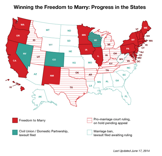 Marriage Equality - June 17 2014