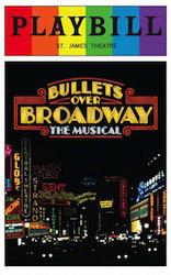 Bullets Over Broadway - Playbill