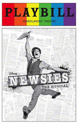 Newsies - Pride Playbill