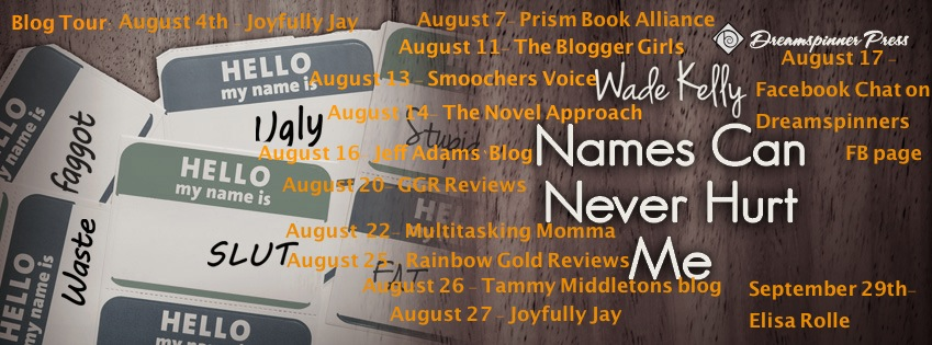 Wade Kelly Blog Tour