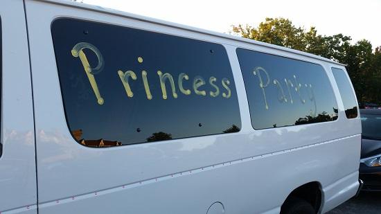 Princess Party Van