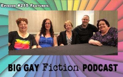 Episode 215 – Mpreg 101 with Nora Phoenix, Silvia Violet, Victoria Sue and Susi Hawke Plus Special Guest Charlie David