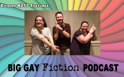 Episode 217 – A Suspenseful Chat with Gregory Ashe, Layla Reyne & L.A. Witt