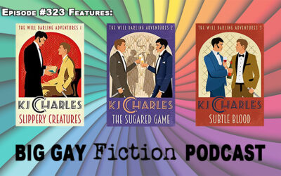 Episode 323 – Bookseller, Disgraced Aristocrat & An Emotional Support Knife with Author KJ Charles