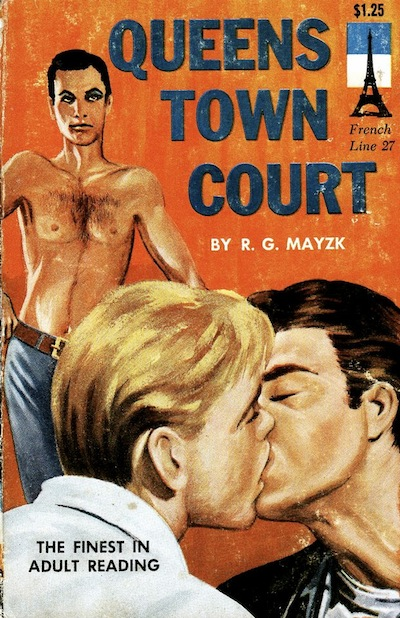 Paperback Cover of the Week: Queens Town Court