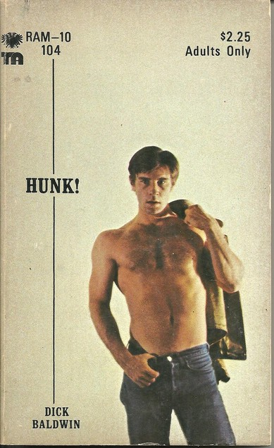 Paperback Cover of the Week: Hunk!