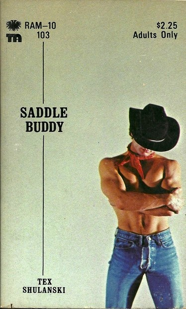 Paperback Cover of the Week: Saddle Buddy