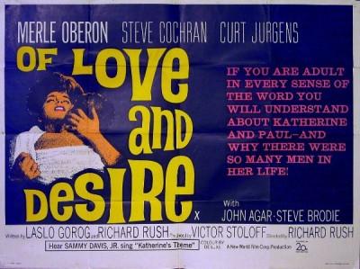 Cool Cinema Trash: Of Love and Desire (1963)