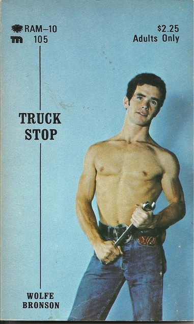Paperback Cover of the Week: Truck Stop