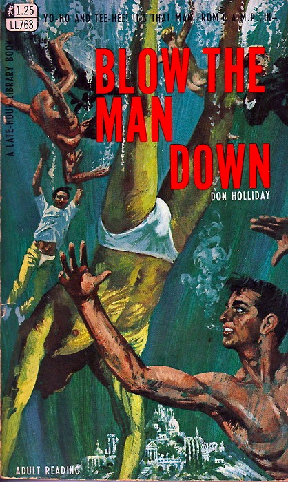 Paperback Cover of the Week: Blow the Man Down