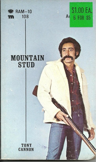 Paperback Cover of the Week: Mountain Stud