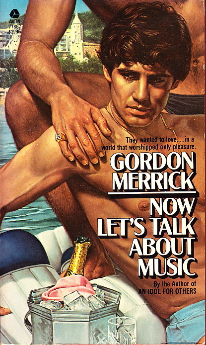 Paperback Cover of the Week: Now Let's Talk About Music