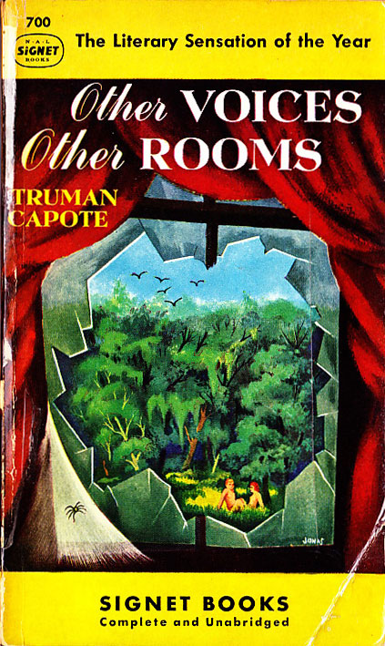 Paperback Cover of the Week: Other Voices, Other Rooms