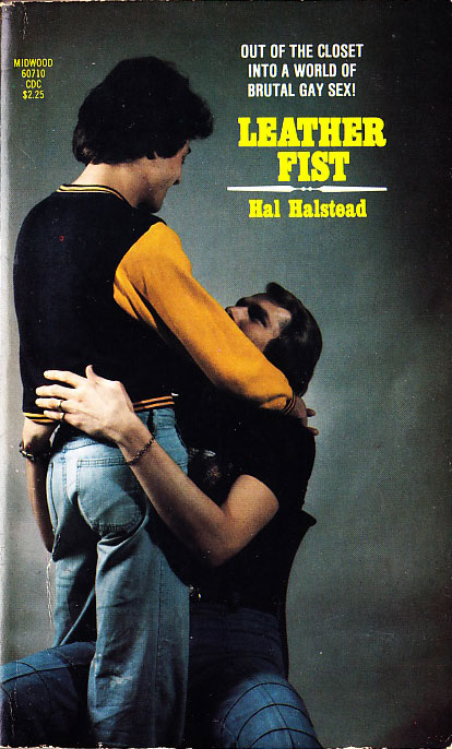 Paperback Cover of the Week: Leather Fist