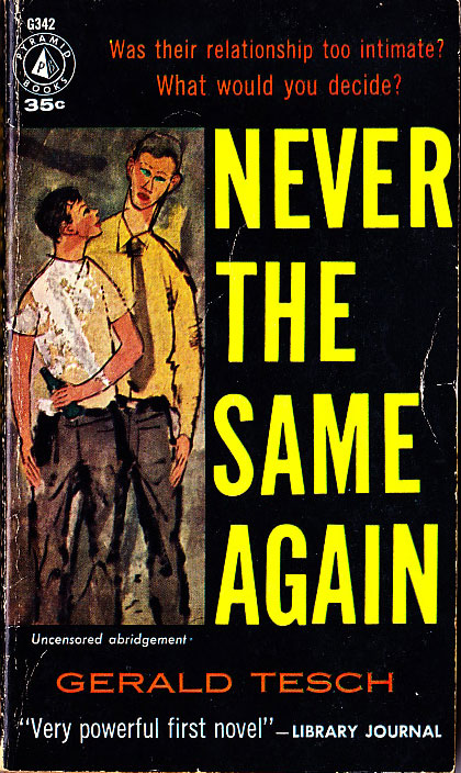 Paperback Cover of the Week: Never the Same Again