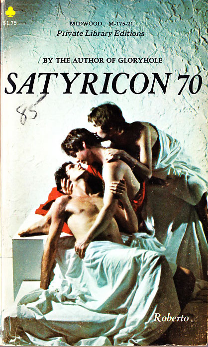 Paperback Cover of the Week: Satyricon 70