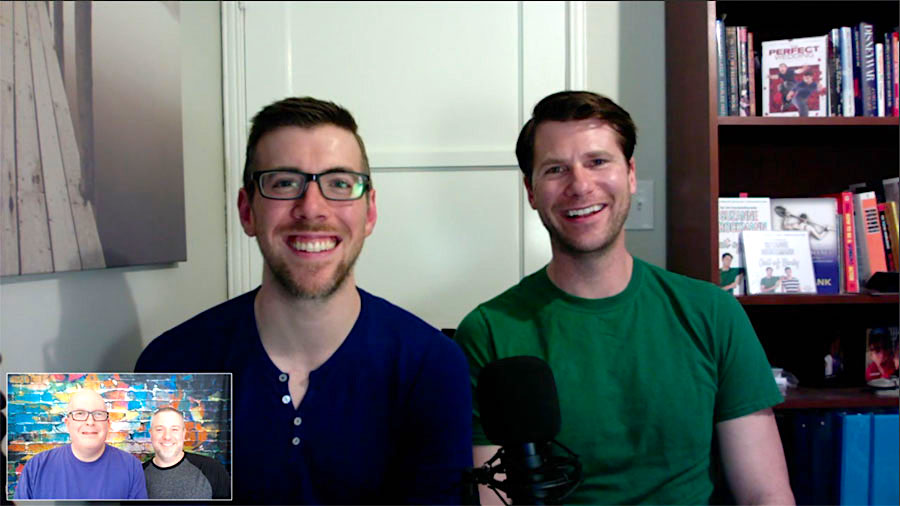 The Cast of the Gay Indie Rom/Com 'Analysis Paralysis' – BGFP Bonus Episode